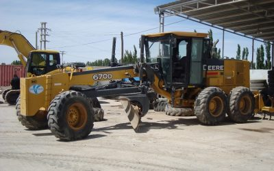John Deere 670D +25 % power and gear based limiters